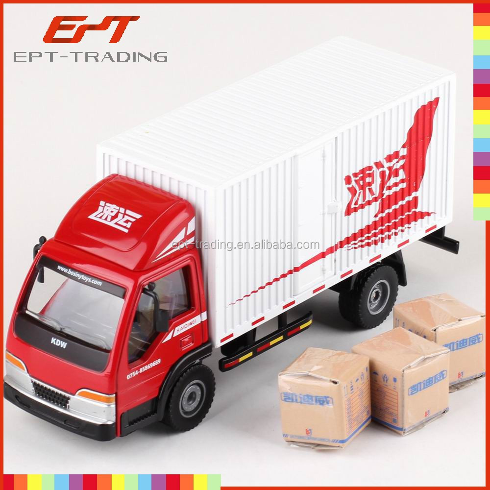 China wholesale 1 40 scale mini van box truck for sale