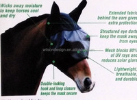 China manufacture high quality fly mask for horse
