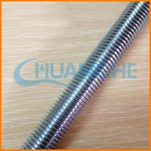 china suppliers fasteners threaded rod/hollow threaded rod/internally thread