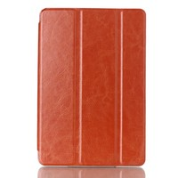 Hot sell crazy horse pattern 3 folds stand leather case for Amazon Kindle Fire HD 7