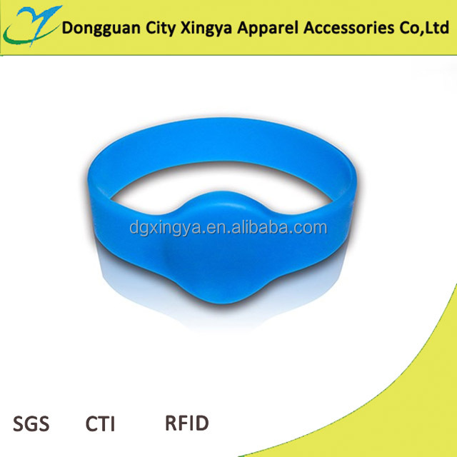 customized sensitive rfid silicone bracelet/silicon band