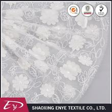 Wholesale free sample fashion embroidery dress tulle fabric wedding