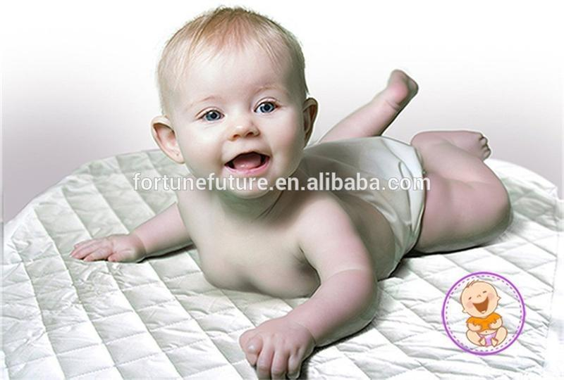 Cheap fitted bamboo terry crib waterproof mattress protector for baby