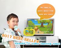 Portable easy sing karaoke machine for table pc/for smart phone karaoke