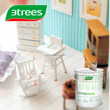 3TREES Super Scratch Resistance White Wood Lacquer(Sealer)