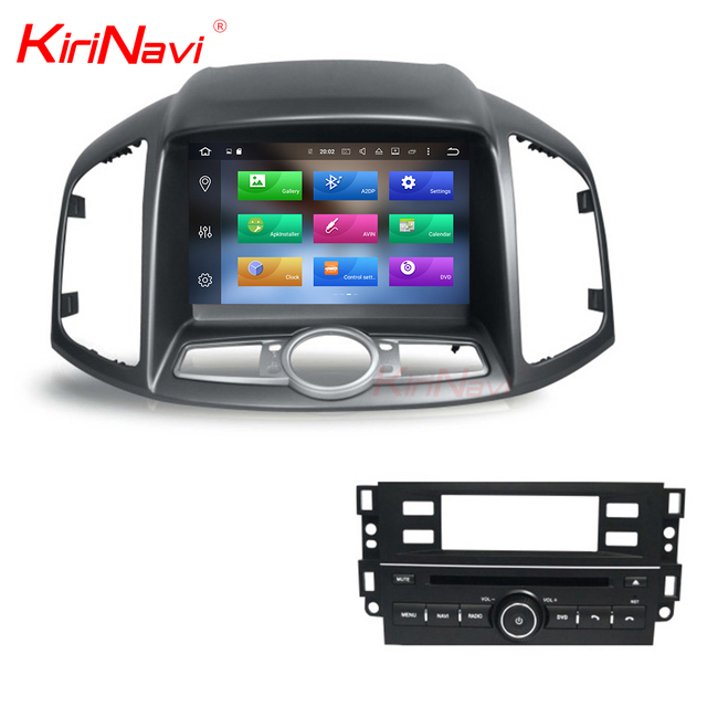 KiriNavi WC-CC8067 8 core android 6.0 stereo for chevrolet captiva car dvd gps navigation 2013 2014 2015 2016 2017 BT 3g TV