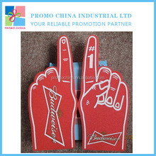 Custom Promotional Cheering EVA Foam Hand For Sport Event And Party