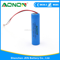 Factory directly sell 3.7V li-ion 18650 battery with Rechargeable Function