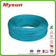 Low Price silicone rubber cable 14awg UL3071braided fiber glass wire
