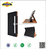 "12.9"" inch Leather Case Multi-Function Standby Case for iPad Pro with Built-in magnet for Sleep & Awake-----Laudtec"