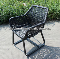 Synthetic rattan outdoor chair, all season use chair CF715C