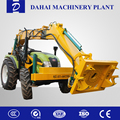 wheeled hydraulic pile driver Excavating machinery