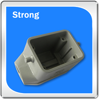 OEM zinc alloy die casting parts aluminum die cast electronic enclosures