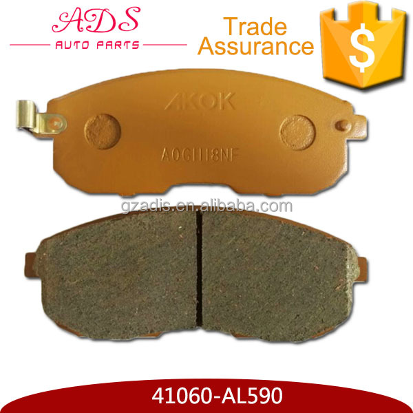 One Year Warranty Car Engine Spare Parts Brake Pads For TEANA J31 A32 A33 CEFIRO 41060-AL590