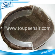 China Supplier Durable Lace PU Hairpieces for men