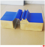 2015 Fireproof Color Steel Polyurethane PU Steel Sandwich Panel 200mm