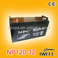 12v 120ah Inverter Maintenance-Free Batteries
