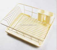 Alibaba china professional wood double dish drainer