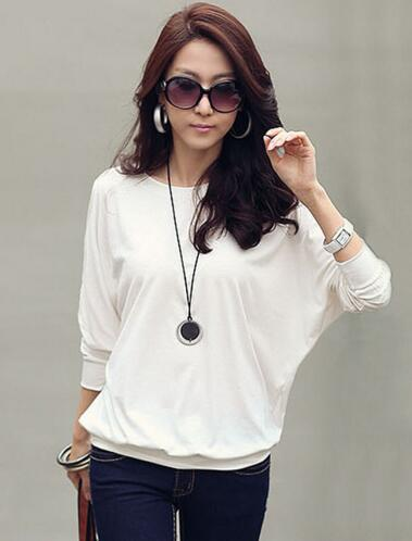 ladies tee shirts long sleeve t shirt women t-shirt white button down shirt