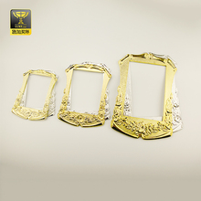 Promotional bulk plastic antique gold picture painting frames