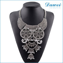 new arrivials silver owl shaped diamond pendant necklace in europe
