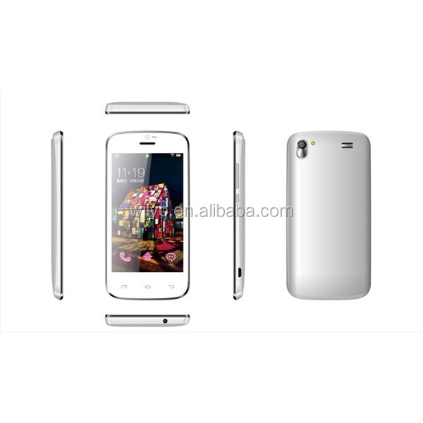 A309W 4.0inch Android Phone Without Camera MT6572 Dual-core Android 4.2 4g rom Smartphone Android Non Camera Phone