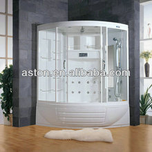 large freestanding sauna shower combine room adults steam room