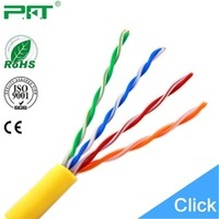 PFT Cable company Unshielded Twisted Pair fire resistant 1000 feet (305 meters ) Cat-6 cables