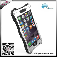 Four-proofing water proof Aluminium alloy silver phone case for iphone 6
