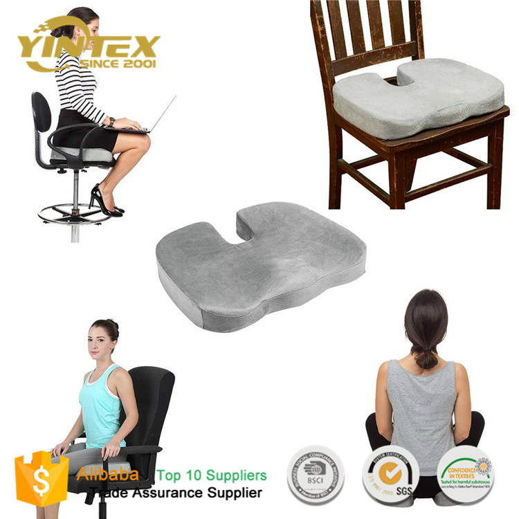 360 degree swivel seat cushion car seat cushion, donut cushion, orthopedic memory foam seat cushion