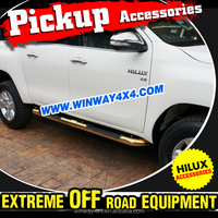 2015 HILUX REVO 3 inch S/S SIDE STEPS SIDE STEP BAR