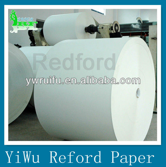 Redford glossed LWC paper roll or sheet for printing magazine