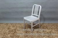 aluminum navy chair,metal navy chair,aluminum dining chair