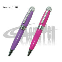 Pen with Crystal Pocket size MB style Mini Crystal Ballpoint Pen Standard size Refill Best Gifts for Girls