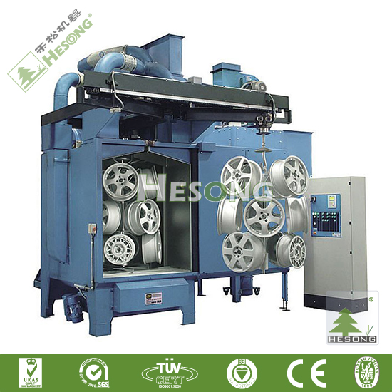 Steel Pipe Inner/Outer Walls Shot Blast Cleaning Machine/Rust Removing Machine