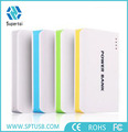 Hot product 2017 Romass power bank 20000mAh with flashlight three USB port power bank