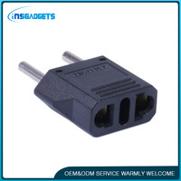 4.0 mm black EU type ac adapter multiple plugs