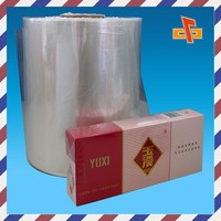 Heat sealing BOPP wrapping film for cigarette packaging