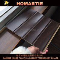 wave laminated pvc wall panel, strong pvc wall, pvc wall for hall