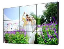 ultra narrow bezel 55 inch lcd video wall,big advertising screen