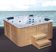 Luxury outdoor square acrylic spa jacuzi hydro massage swimming pool