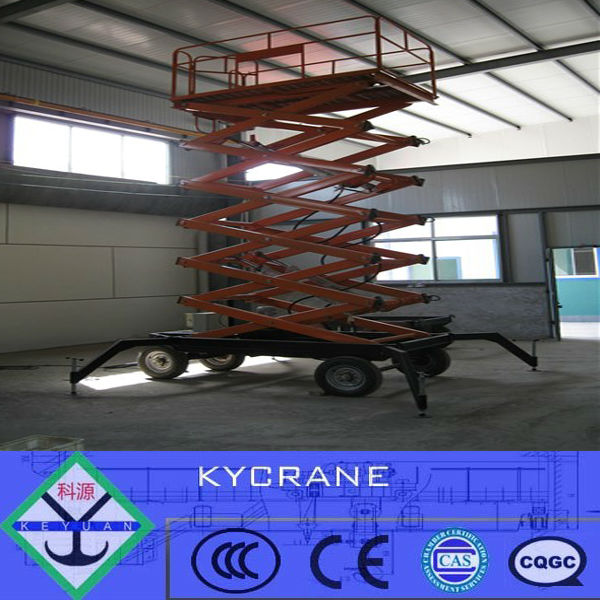 hydraulic scissor wheelchair motorcycle lift table