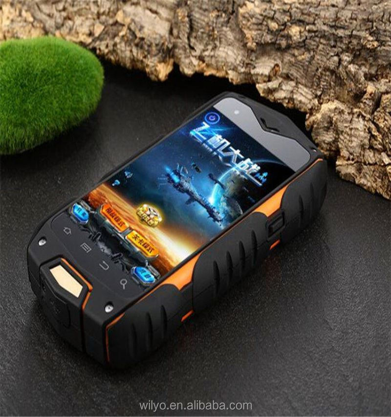 4.0 inch feature cell phone with 4000mah big power battery MTK6582 IP68 Waterproof and dust-proof rugged phone