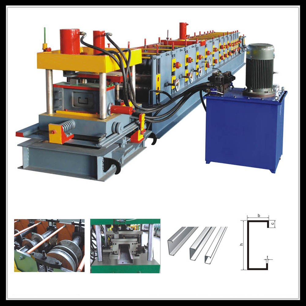 metal building steel frame roll forming machine used frame machine for sale