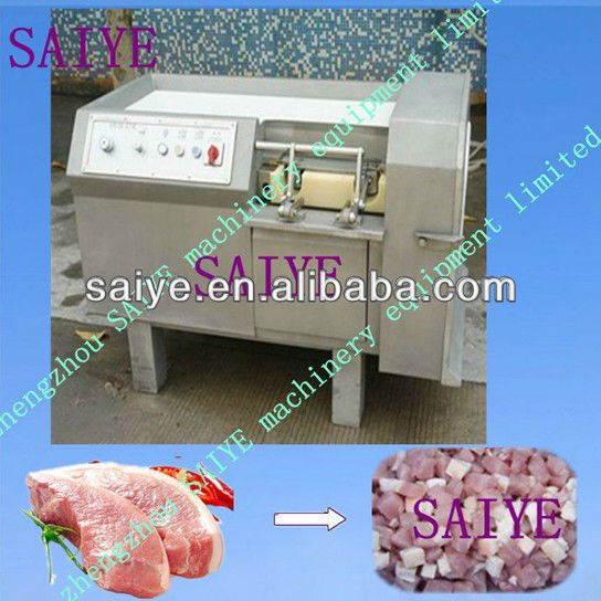 meat cub cutter machine meat cutting machine