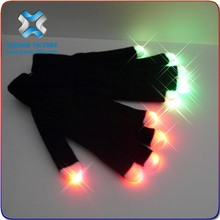 2016 christmas High Quality MultiColor Magic Light Up Gloves,led gloves