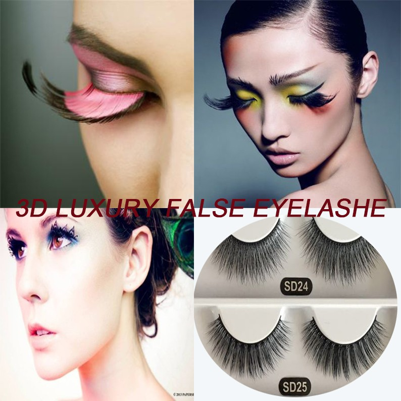 2017 China best-selling 3D synthetic eyelashes Manufacturer wholesale private label handmade 3D faux mink eyelashes