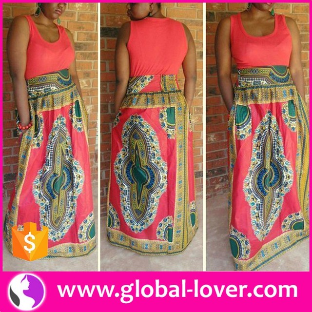 drop shipping new arrival summer african strapless long maxi dresses for sale