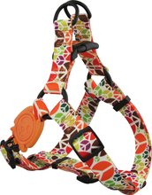 Eco-Friendly Print Heat Transfer Design Step-In And Retractble Dog Harness soft Middle F