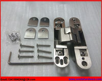 Zinc Alloy German Hidden Door Hinge For Heavy Doors